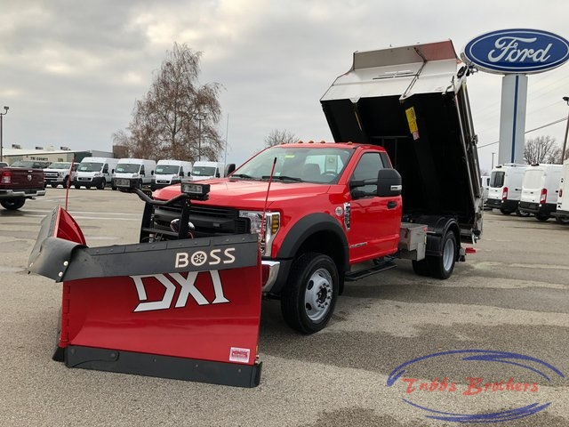 2019 F-550 Regular Cab DRW 4x4, Monroe MTE-Zee SST Series Dump Body #31816 - photo 4