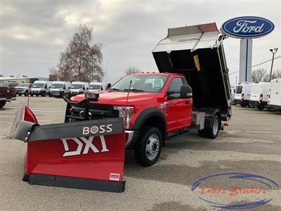2019 F-550 Regular Cab DRW 4x4, Monroe MTE-Zee SST Series Dump Body #31816 - photo 19