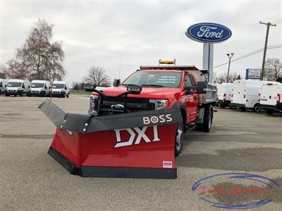 2019 F-550 Regular Cab DRW 4x4, Monroe MTE-Zee SST Series Dump Body #31816 - photo 5