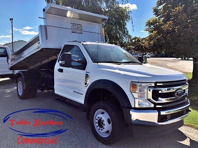 2021 Ford F-550 Regular Cab DRW 4x4, Cab Chassis #32891 - photo 1