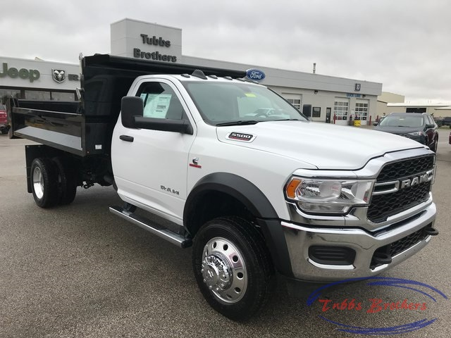2019 Ram 5500 Regular Cab DRW 4x4,  Knapheide Dump Body #31583 - photo 1