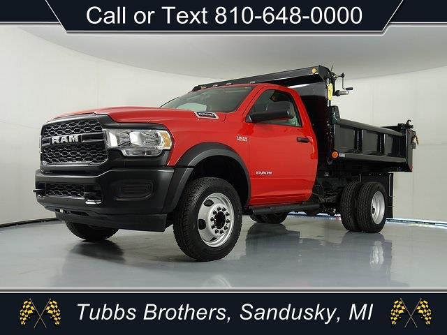 2020 Ram 5500 Regular Cab DRW 4x4,  Bostick Truck Center Dump Body #32673 - photo 4