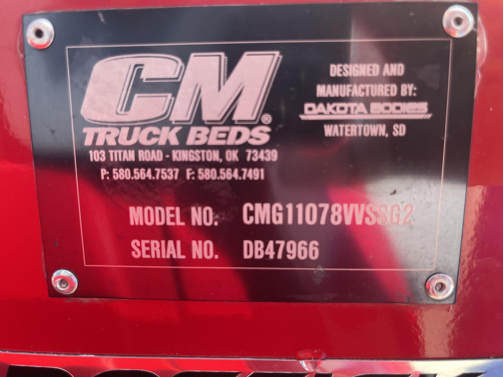 2021 Ram 3500 Crew Cab 4x4,  CM Truck Beds Service Body #33335 - photo 8