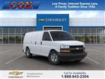 2020 Express 2500 4x2, Adrian Steel Commercial Shelving Upfitted Cargo Van #0G124396 - photo 1