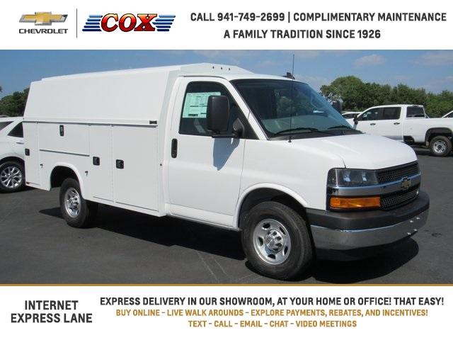 2020 Chevrolet Express 3500 4x2, Knapheide Service Utility Van #0G195474 - photo 1