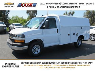 2020 Chevrolet Express 3500 4x2, Knapheide KUV Service Utility Van #0G195474 - photo 4