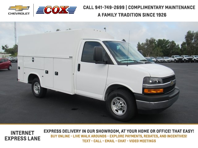 2020 Chevrolet Express 3500 4x2, Knapheide Service Utility Van #0G209012 - photo 1