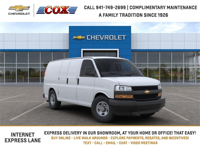 2020 Chevrolet Express 2500 4x2, Adrian Steel Upfitted Cargo Van #0G239117 - photo 1