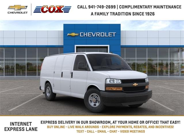 2020 Chevrolet Express 2500 4x2, Adrian Steel Upfitted Cargo Van #0G239836 - photo 1
