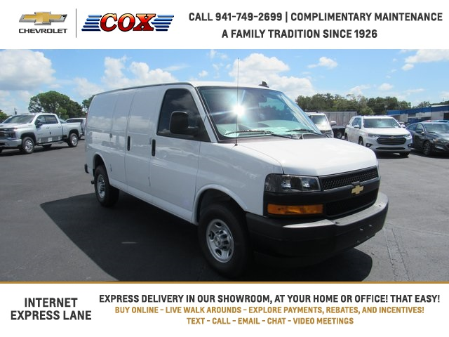 2020 Chevrolet Express 2500 4x2, Adrian Steel Upfitted Cargo Van #0G239890 - photo 1