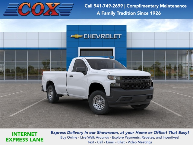 2020 Silverado 1500 Regular Cab 4x2, Pickup #0T207655 - photo 1