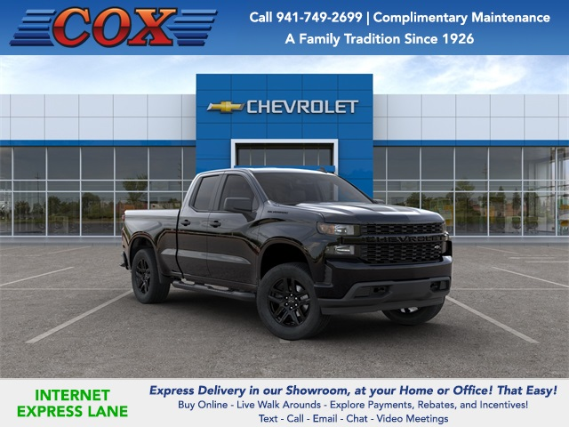 2020 Silverado 1500 Double Cab 4x2, Pickup #0T277626 - photo 1