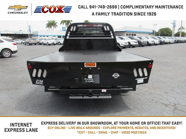2020 Chevrolet Silverado 3500 Crew Cab DRW 4x4, CM Truck Beds Platform Body #0T291182 - photo 1