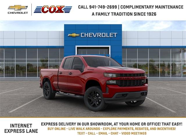 2020 Chevrolet Silverado 1500 Double Cab 4x2, Pickup #0T291597 - photo 1