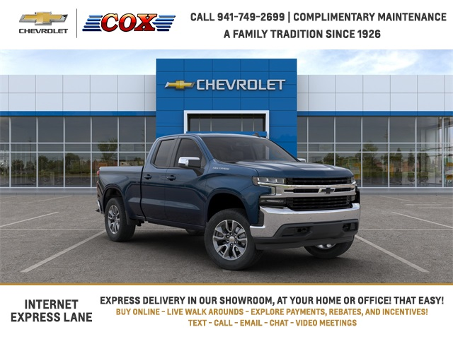 2020 Chevrolet Silverado 1500 Double Cab 4x2, Pickup #0T365876 - photo 1