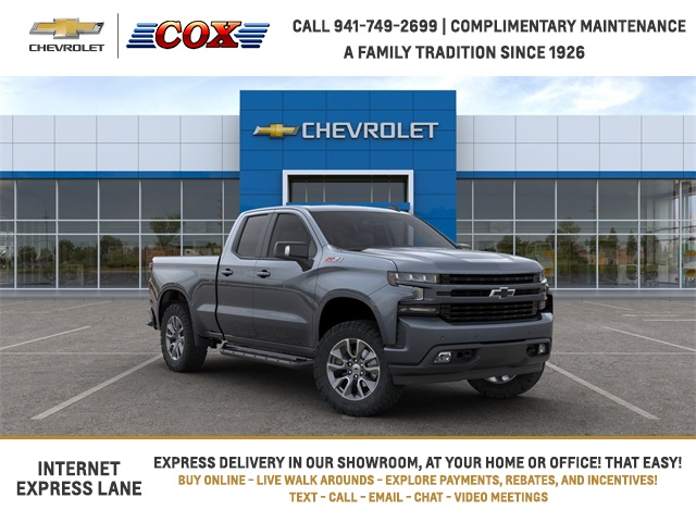 2020 Chevrolet Silverado 1500 Double Cab 4x4, Pickup #0T370055 - photo 1