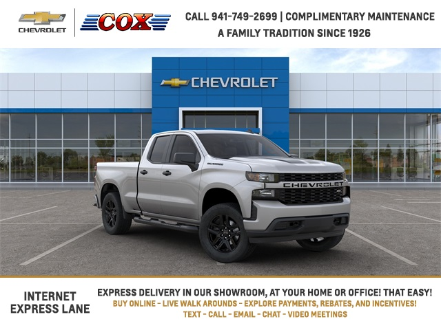 2020 Chevrolet Silverado 1500 Double Cab 4x2, Pickup #0T375042 - photo 1