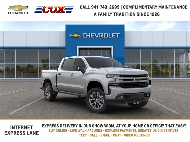 2020 Chevrolet Silverado 1500 Crew Cab 4x2, Pickup #0T385165 - photo 1