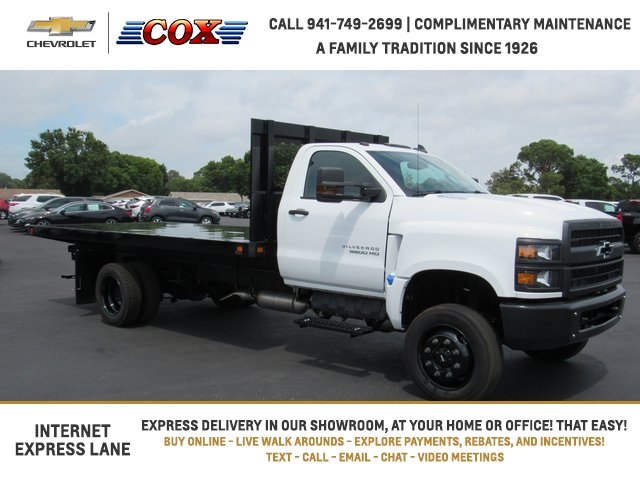 2020 Chevrolet Silverado 5500 Regular Cab DRW 4x4, Knapheide Platform Body #0T584906 - photo 1