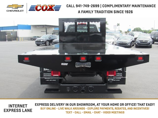 2020 Silverado 5500 Regular Cab DRW 4x4, Knapheide Platform Body #0T584906 - photo 1