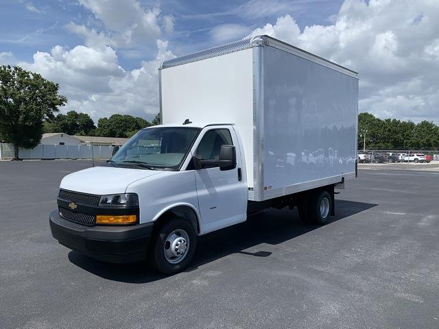 2021 Chevrolet Express 3500 DRW 4x2, J&B Truck Body Cutaway Van #1G008901 - photo 4