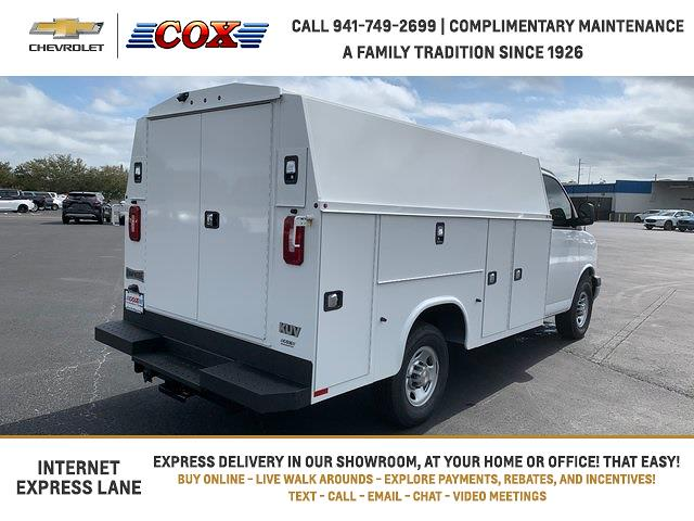 2021 Chevrolet Express 3500 4x2, Knapheide Service Utility Van #1G166217 - photo 1