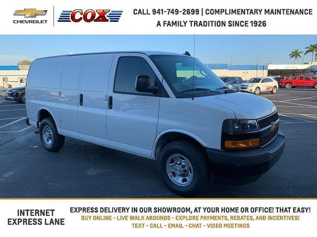 2021 Chevrolet Express 2500 4x2, Adrian Steel Upfitted Cargo Van #1G168336 - photo 1