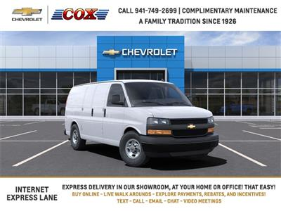 2021 Chevrolet Express 2500 4x2, Adrian Steel Commercial Shelving Upfitted Cargo Van #1G168472 - photo 1