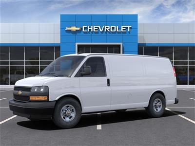 2021 Chevrolet Express 2500 4x2, Adrian Steel Commercial Shelving Upfitted Cargo Van #1G168472 - photo 4