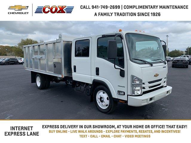 2021 Chevrolet LCF 4500XD Crew Cab DRW 4x2, Premier Truck Center Landscape Dump #1HK01092 - photo 1