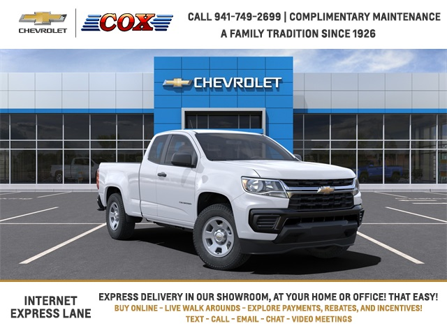 2021 Chevrolet Colorado Extended Cab 4x2, Pickup #1L160026 - photo 1