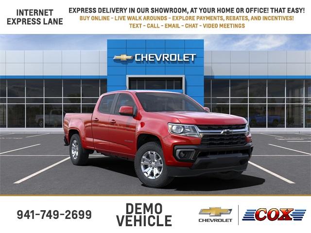 2021 Chevrolet Colorado Crew Cab 4x2, Pickup #1LD62914 - photo 1