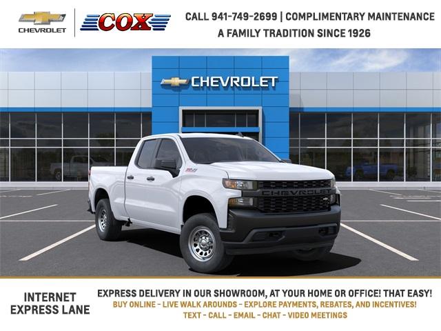 2021 Chevrolet Silverado 1500 Double Cab 4x4, Pickup #1T101895 - photo 1