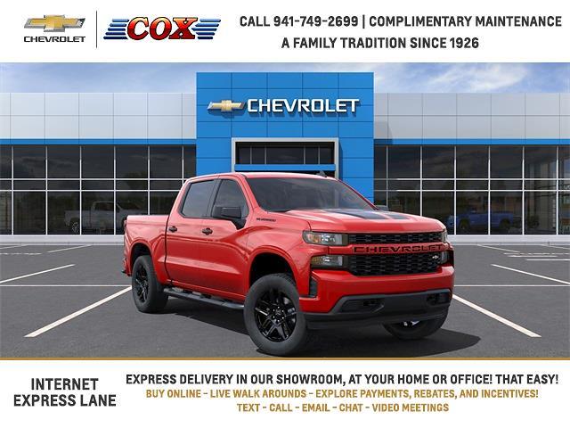 2021 Chevrolet Silverado 1500 Crew Cab 4x2, Pickup #1T319934 - photo 1