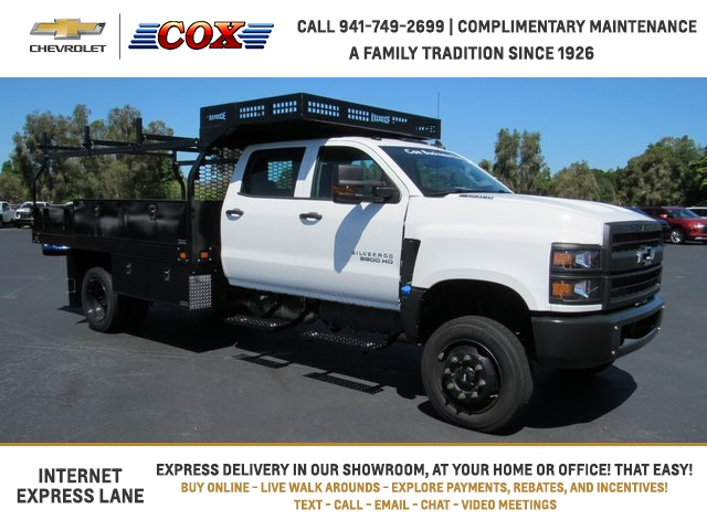 2019 Chevrolet Silverado 5500 Crew Cab DRW 4x4, Knapheide Concrete Body #9T160291 - photo 1