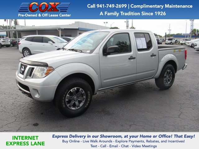2016 Nissan Frontier Crew Cab 4x2, Pickup #L210817A - photo 1