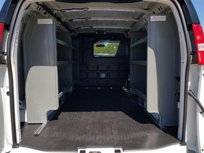 2019 Savana 2500 4x2, Adrian Steel Base Shelving Upfitted Cargo Van #C19350 - photo 2