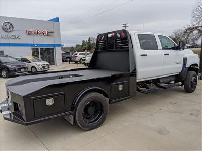 "2020 Silverado Medium Duty Crew Cab DRW 4x4, 9' 6"" CUSTOM HAULER BED  #C20027 - photo 2"
