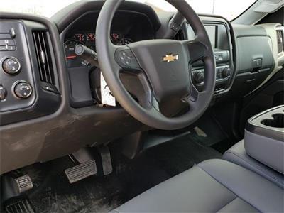 "2020 Silverado Medium Duty Crew Cab DRW 4x4, 9' 6"" CUSTOM HAULER BED  #C20027 - photo 10"
