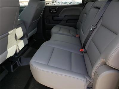 "2020 Silverado Medium Duty Crew Cab DRW 4x4, 9' 6"" CUSTOM HAULER BED  #C20027 - photo 12"