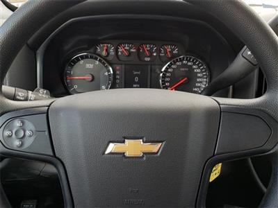 "2020 Silverado Medium Duty Crew Cab DRW 4x4, 9' 6"" CUSTOM HAULER BED  #C20027 - photo 18"