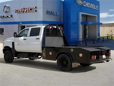 "2020 Silverado Medium Duty Crew Cab DRW 4x4, 9' 6"" CUSTOM HAULER BED  #C20027 - photo 6"