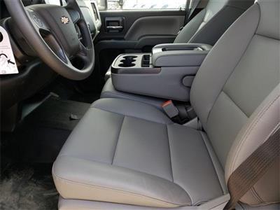 "2020 Silverado Medium Duty Crew Cab DRW 4x4, 9' 6"" CUSTOM HAULER BED  #C20027 - photo 9"