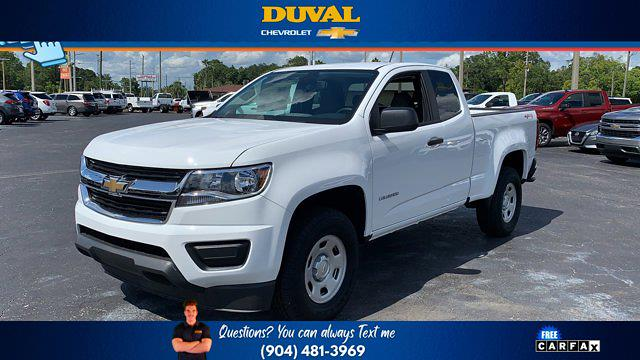 2020 Chevrolet Colorado Extended Cab 4x4, Pickup #221254 - photo 4