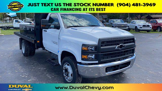 2019 Chevrolet Silverado 4500 Regular Cab DRW RWD, Knapheide Platform Body #KH886091 - photo 1