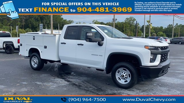 2020 Chevrolet Silverado 2500 Double Cab RWD, Knapheide Service Body #LF275570 - photo 1