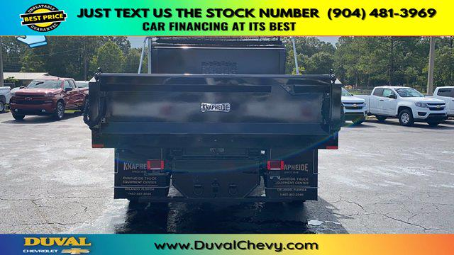 2020 Chevrolet Silverado 5500 Crew Cab DRW RWD, Knapheide Rigid Side Dump Body #LH584804 - photo 7