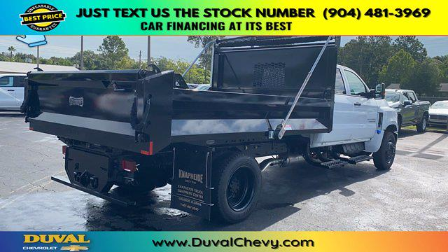 2020 Chevrolet Silverado 5500 Crew Cab DRW 4x2, Knapheide Rigid Side Dump Body #LH584804 - photo 2