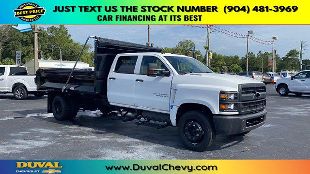 2020 Chevrolet Silverado 5500 Crew Cab DRW RWD, Knapheide Rigid Side Dump Body #LH584804 - photo 1