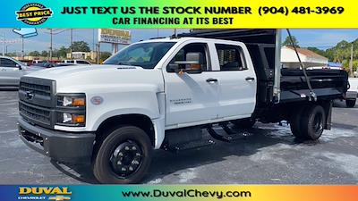 2020 Chevrolet Silverado 5500 Crew Cab DRW 4x2, Knapheide Rigid Side Dump Body #LH584804 - photo 4
